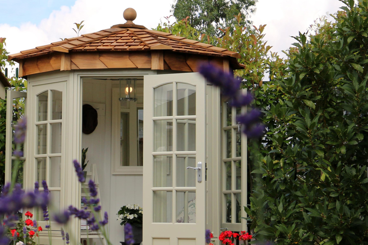 Reduced height Hopton Summerhouse